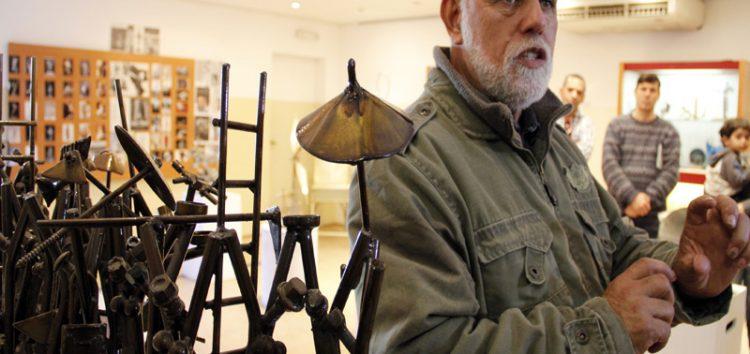 Arte e sucata de Lúcio Bittencourt em exposição no Sesc de Guarapari