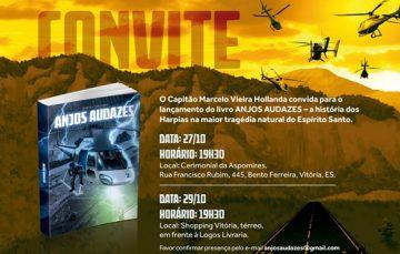 Piloto capixaba lança livro sobre as enchentes de 2013