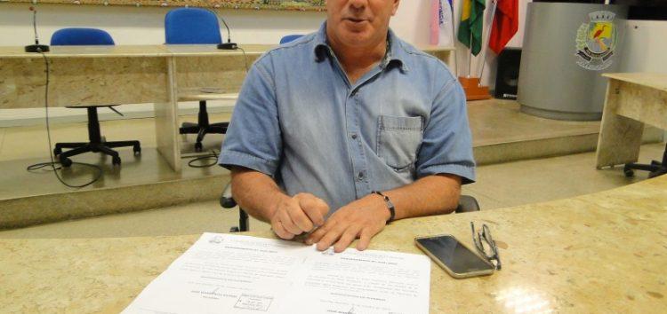 Presidente da Câmara propõe incentivo aos produtores rurais que recuperarem as nascentes