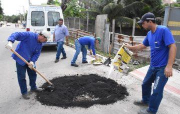 SOS Minha Rua inicia operação tapa buracos