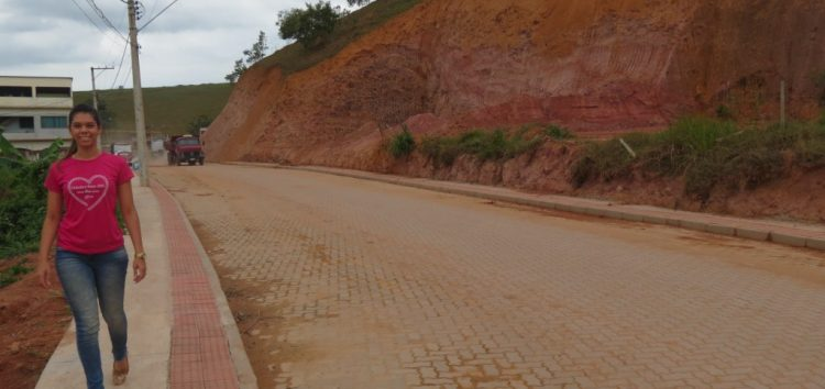 Bairro Ipanema ganha pavimentação e calçadas cidadãs