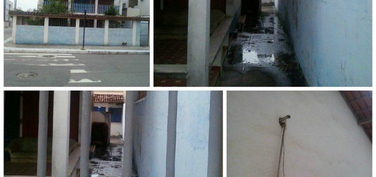 Flagra: Moradores denunciam vazamento de água há 12 dias