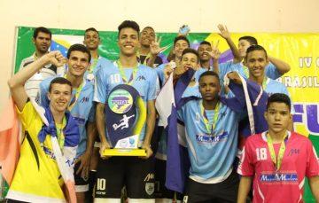 Espírito Santo é vice-campeão brasileiro escolar de futsal