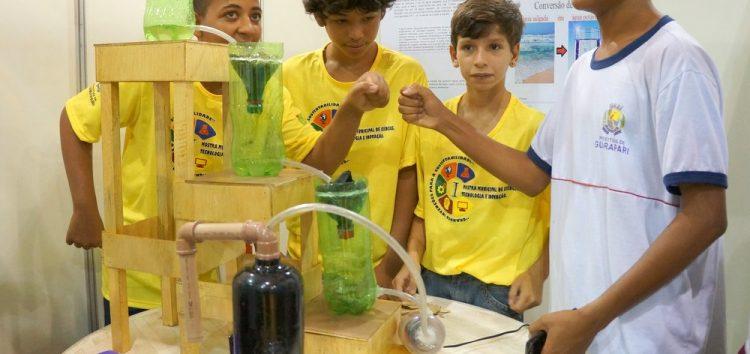 Mostra de Ciência e Tecnologia desperta o interesse pelo Meio Ambiente