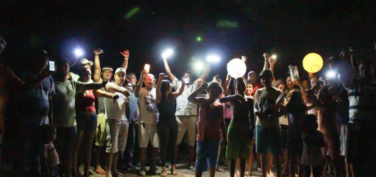 Santa Arinda: 270 famílias sem luz há mais de um ano