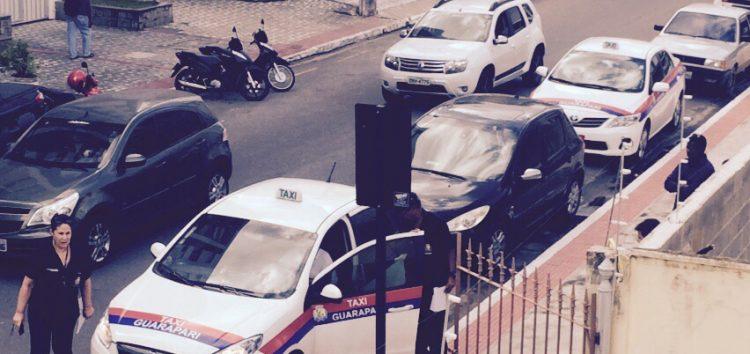 Processo seletivo para táxis é suspenso em Guarapari