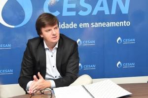 Presidente da Cesan,