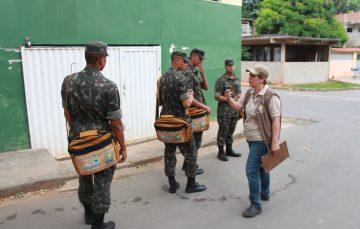 Exército na luta contra a dengue em Guarapari