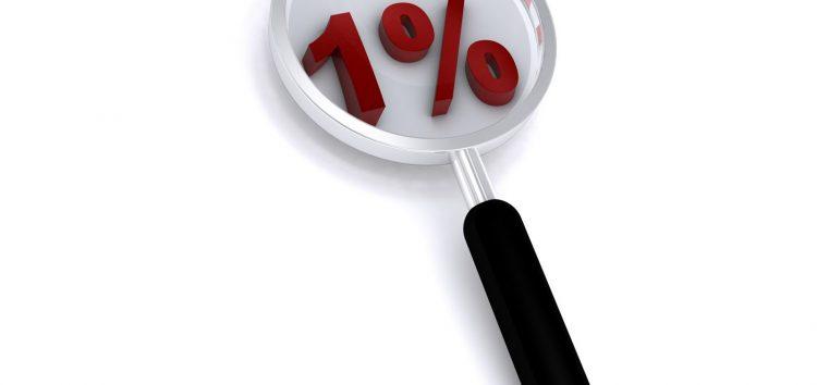 Aquele menos de 1%
