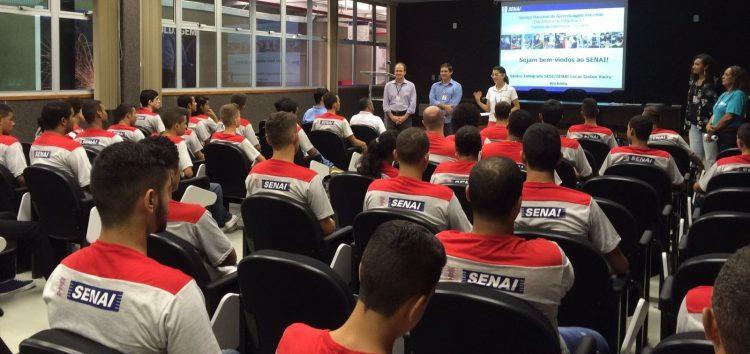 Ano letivo do Centro Integrado Sesi/Senai Anchieta inicia com 500 alunos