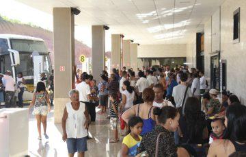 Turistas reclamam da cobrança de taxa para utilizar banheiro da Rodoviária em Guarapari