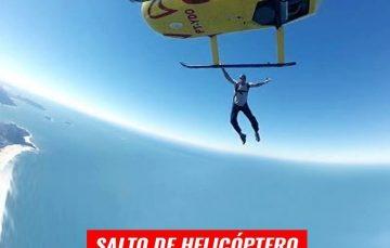 Salto de paraquedas a 12 mil pés de altura nesta quarta em Guarapari