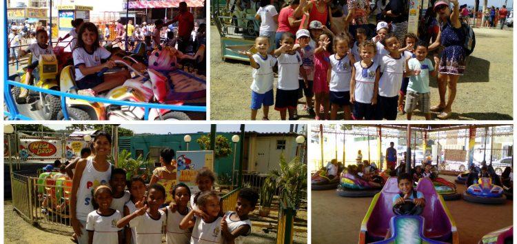 Mais de 4 mil crianças tiveram um dia feliz no parque