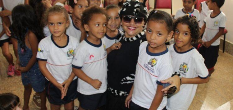 Secretaria Municipal de Saúde de Guarapari realiza ações educativas nas escolas