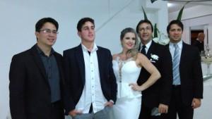 Rutilea Cabral e familia