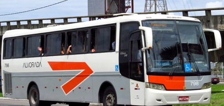 Alvorada com preço de ônibus municipal