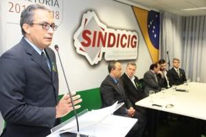 Presidente do Sindicig foi reeleito para o biênio 2016/2018