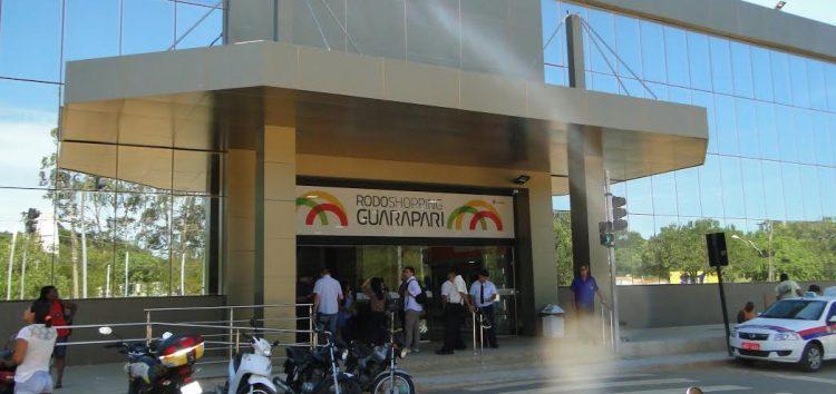Resultado de imagem para Guarapari 'taxa de parada' no RodoShopping