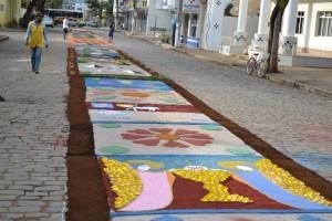 Tapetes de Corpus Christi. Foto Divulgação.