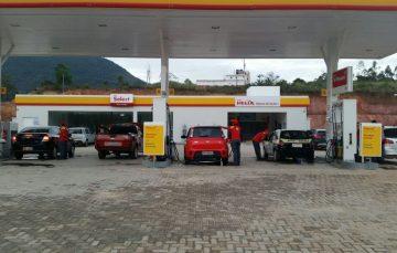 Gasolina comum a R$ 3,55 em Guarapari