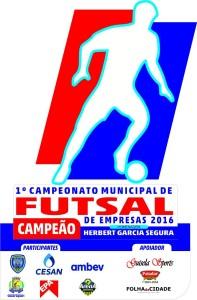 campeonato municipal de futsal de empresas 2016