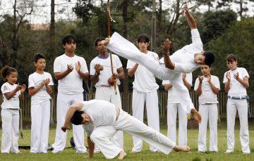 Grupo de Capoeira oferece aulas gratuitas em Alfredo Chaves