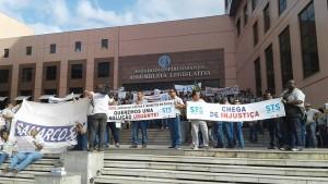 manifestação samarco