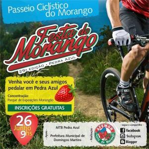 passeio ciclistico do morango