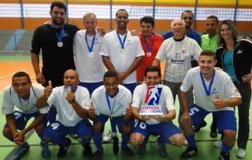 Cesan conquista ouro nos pênaltis no I Campeonato Municipal de Futsal entre Empresas