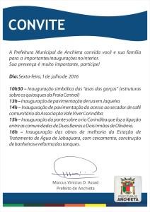 convite inauguração anchieta
