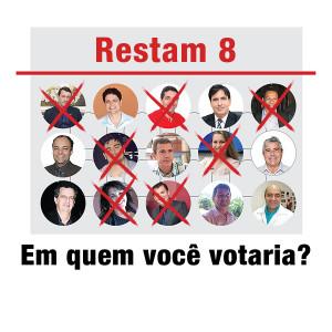 Restam oito candidatos em Guarapari. Em quem você voaria?