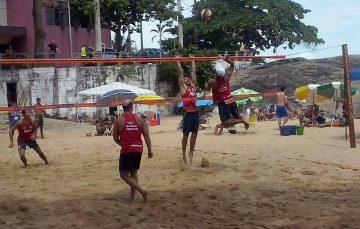 Praia das Castanheiras recebe a primeira etapa do ano de Vôlei de Praia neste final de semana