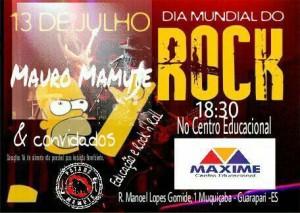 projeto Educação e Rock and Roll Maxime