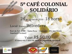 Café Colonial Solidário Apae
