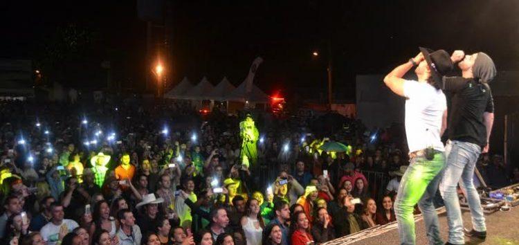 40 mil pessoas participam da 44ª Festa da Banana e do Leite
