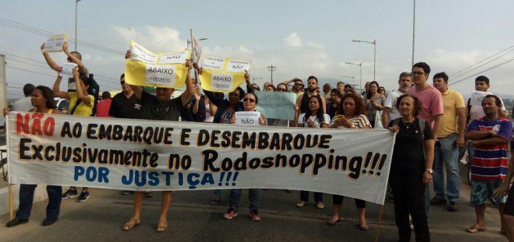 Protesto na ponte pelo fim do Decreto 389/2016 está mantido para amanhã (03)