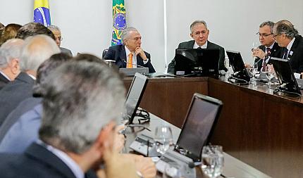 Empresários capixabas se reuniram com o novo presidente na última terça (13).