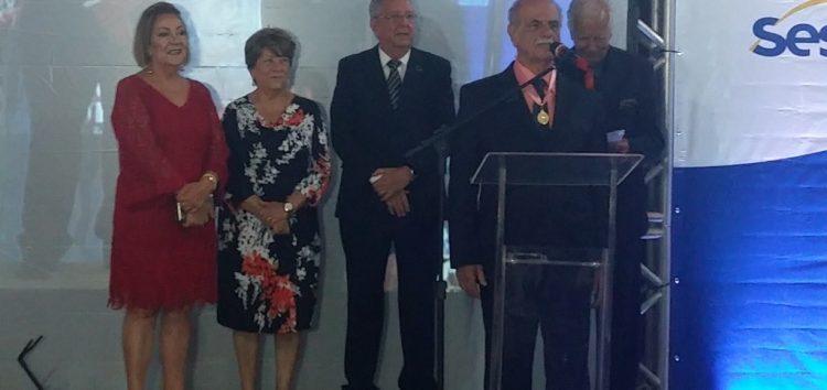 Jorge Zouain recebe Medalha de Mérito Comercial