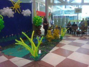 """Uma das histórias apresentadas foi """"O Patinho Surdo"""". Foto: Marina Oliveira"""