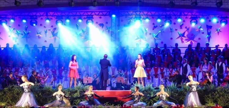 Coral de Natal das 200 vozes está com inscrições abertas