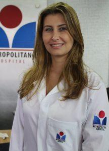 Fabiane Farina, nutricionista.