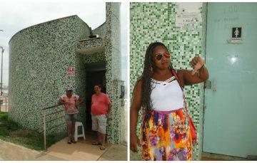 Banheiros da Praia do Morro funcionam ou não? E as duchas?