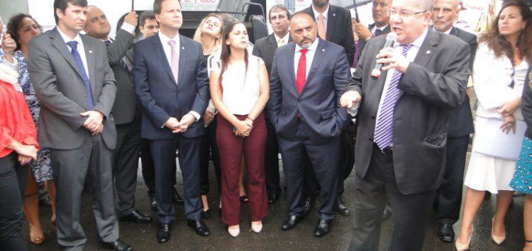 OAB Nacional faz ato de repúdio a suposto autoritarismo de policiais civis em Guarapari