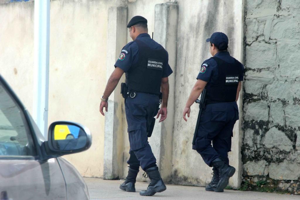 Agentes da Guarda Municipal. Foto: Divulgação.