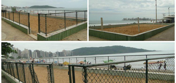 Parquinhos da Praia do Morro: Cadê os brinquedos que estavam aqui?