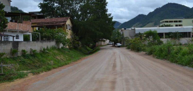 Bairro Santa Rita recebe pavimentação de ruas