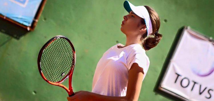 Tenista de Guarapari é a primeira no ranking do estado