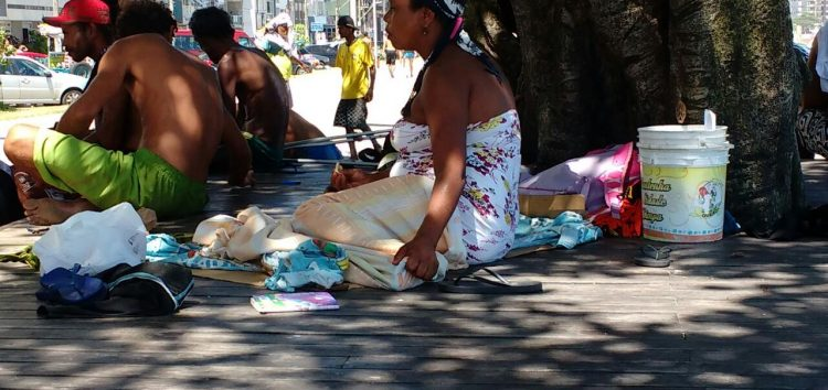 "Árvore do ""Vovô Nuto"" vira ponto de drogas na Praia do Morro"