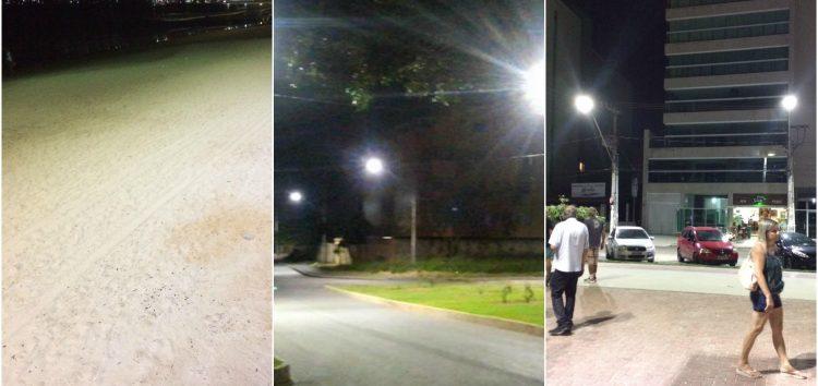 Praia do Morro e Centro serão os primeiros bairros de Guarapari a receber iluminação LED