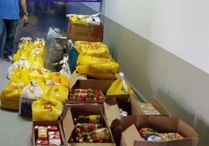MAIS de duas toneladas de alimentos serão doadas ao Hospital de Anchieta e ao